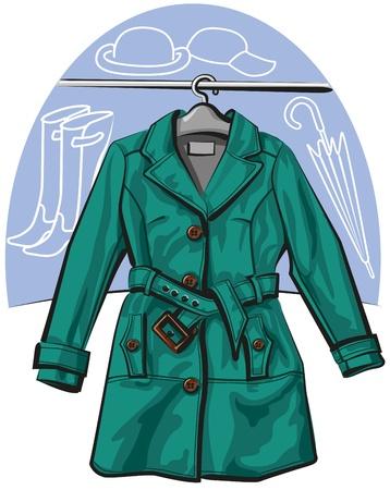 raincoat: raincoat