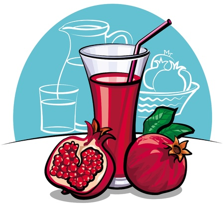 pomegranate juice: Pomegranate juice