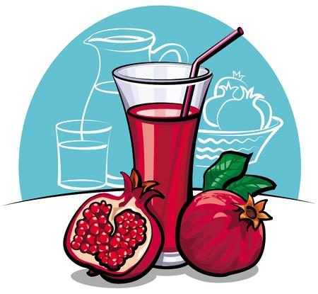 pomegranate: Pomegranate juice
