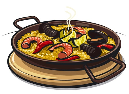 spanish food: spanish paella