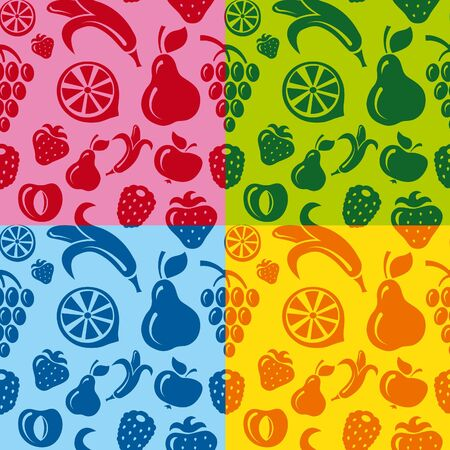 fruits seamless pattern Stock Vector - 14813939