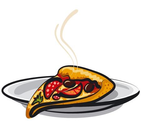 mozzarella cheese: slice of pizza