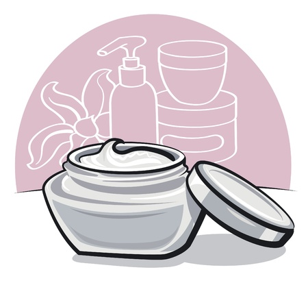 moisturizing cream Stock Vector - 15732181