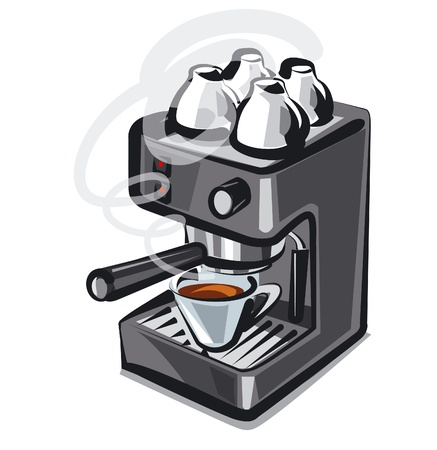 percolator: coffee machine