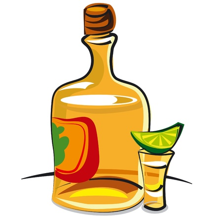 mexican party: tequila