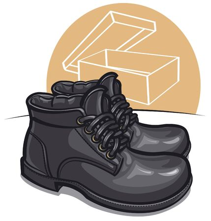 fall protection: men boots