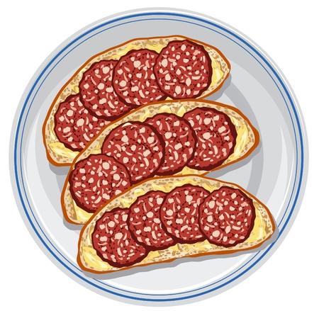 salami: sándwiches con salami