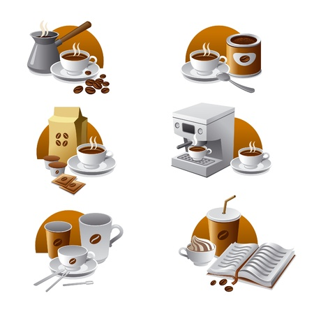 instant coffee: coffee icons