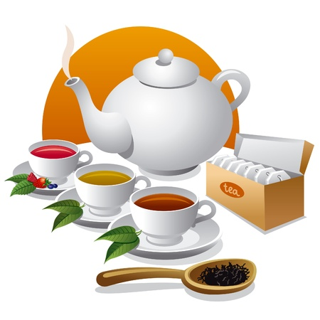 steam of a leaf: tea  icon