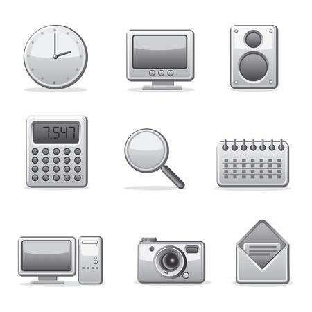 configure: computer applications icon set