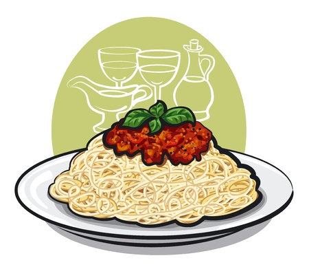 spaghetti: Spaghetti bolognese