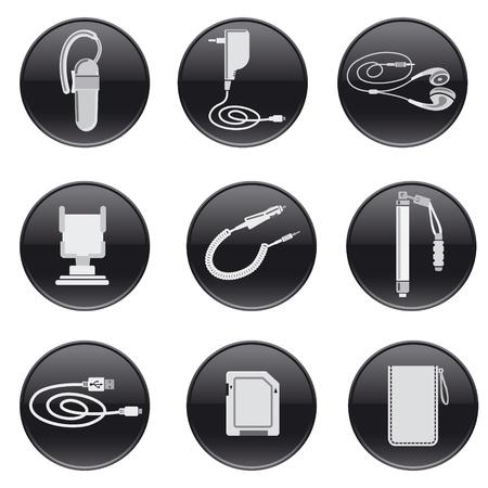 mobile headset: Dispositivos accesorios m�viles