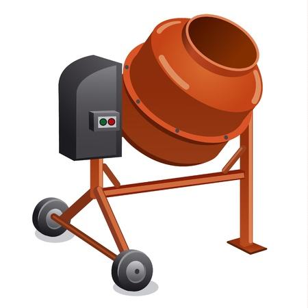 cement mixer: concrete mixer