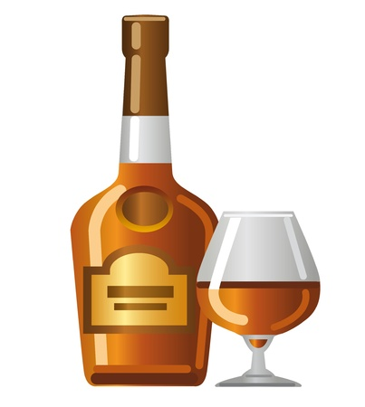 cognac: cognac Illustration