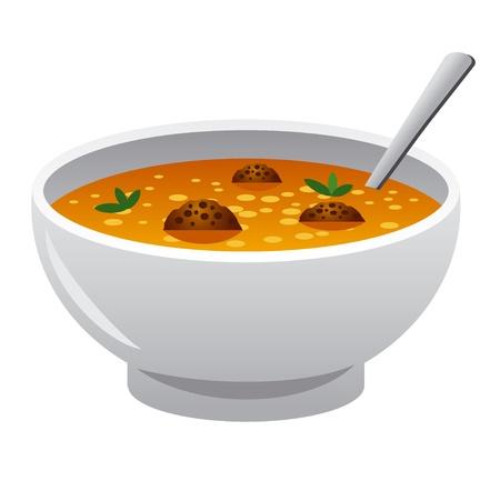 Suppe Standard-Bild - 21087839
