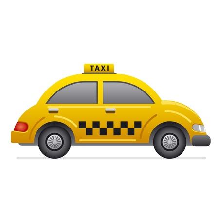 taxi icon Иллюстрация