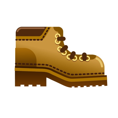 hiking boot: boot
