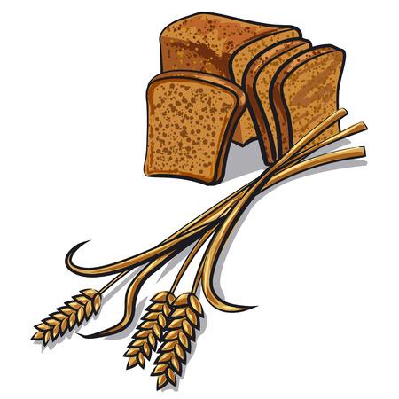 centeno: pan de centeno