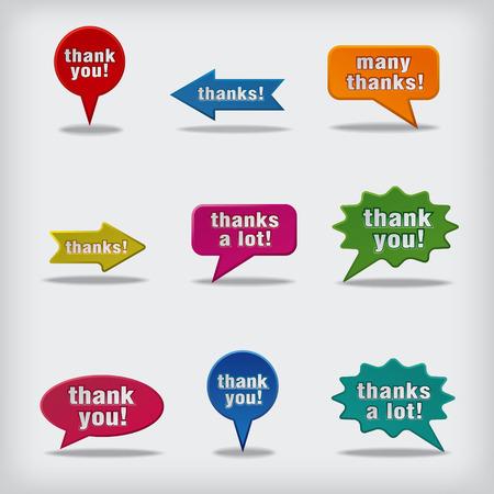 thanks a lot: thank you bubbles