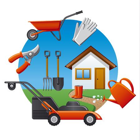 garden hose: work garden tools