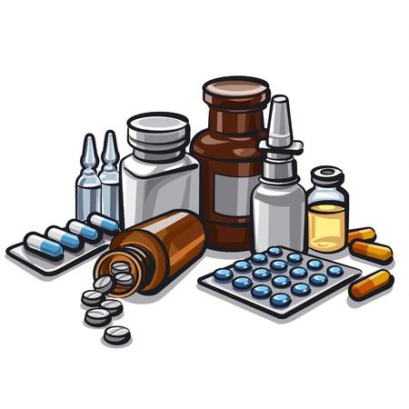 medicamentos: medicamentos Vectores