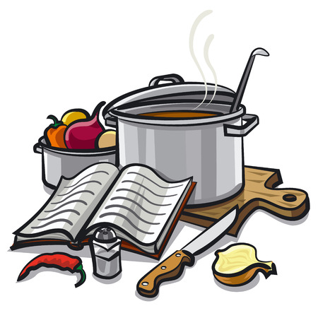 learning to cook: cooking