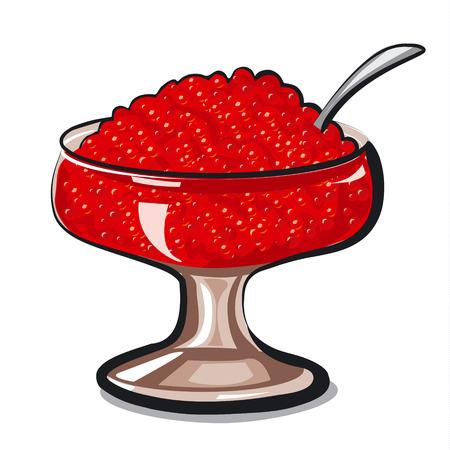caviar: red caviar