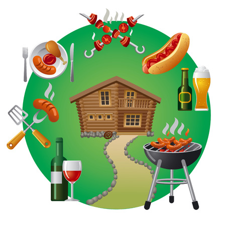 grill party icons