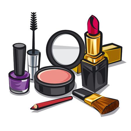 make up kit 版權商用圖片 - 31652309