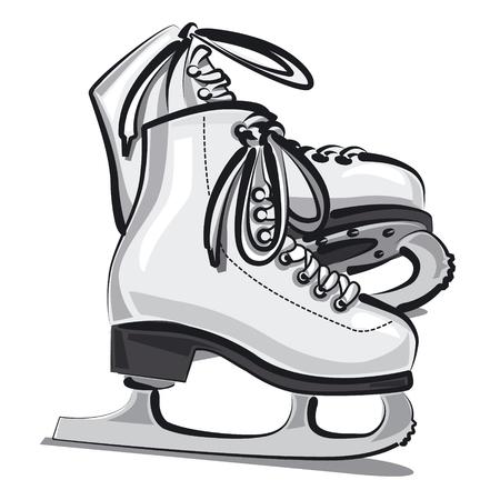 ice skates: figure skates