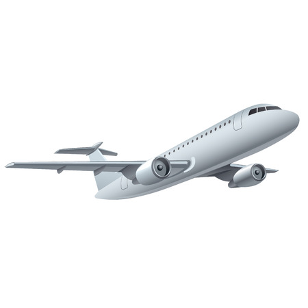 commercial airplane: jet airplane
