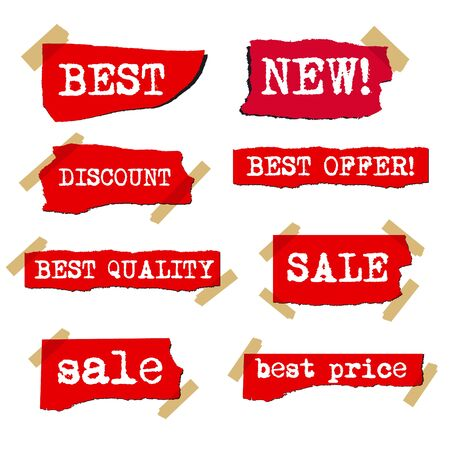 lacerated: promotion sale labels