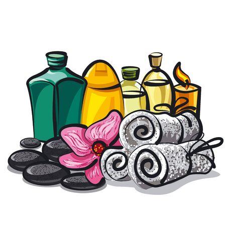 spa products Фото со стока - 35895437