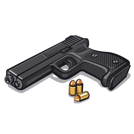 ammunition: pistol