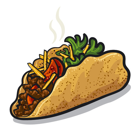 tacos: tacos Illustration