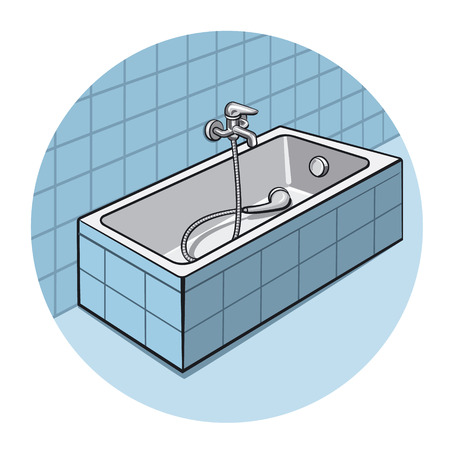 bathroom: bathroom Illustration