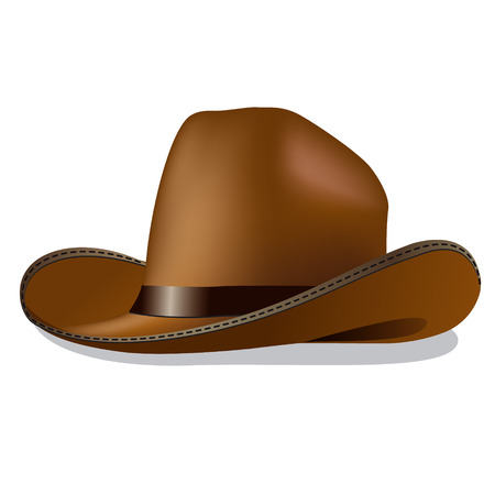 man with hat: cowboy hat