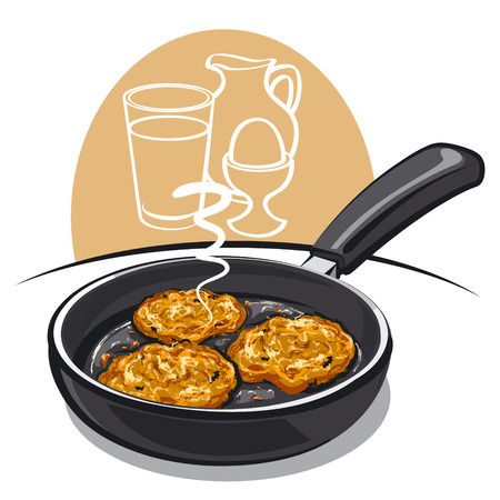 savoury: potato pancakes
