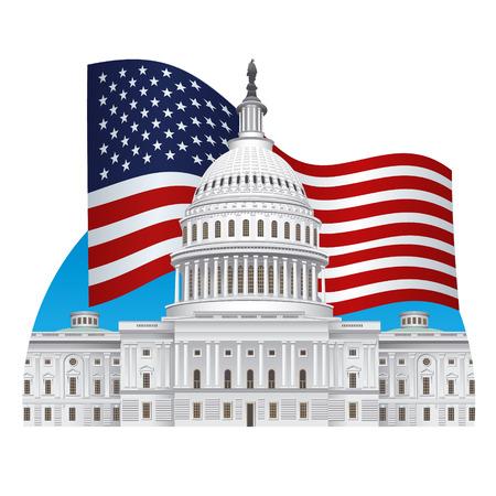 capitol building: capitol building Illustration