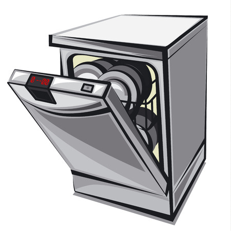 dishwasher 일러스트