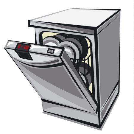 Spülmaschine Standard-Bild - 38898104