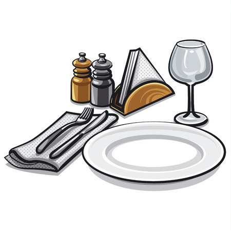 place setting: cutlery