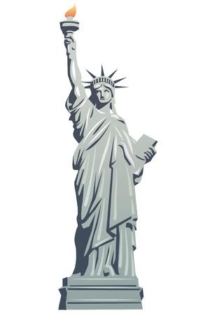 statue: statue of liberty