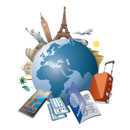 travel Stock Illustratie