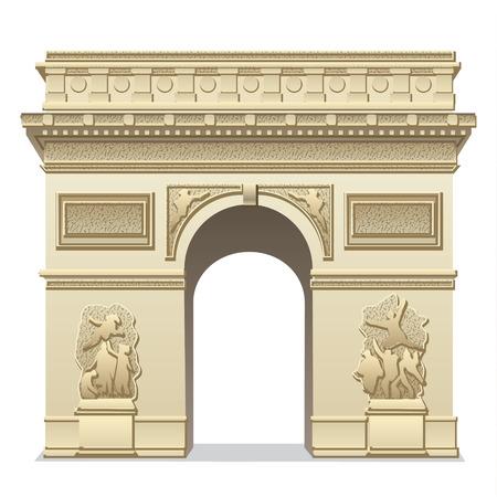 triumphal arch Illustration
