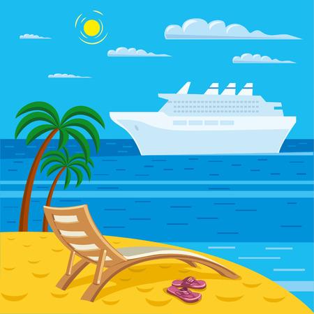 전원시의: 해변 휴식
