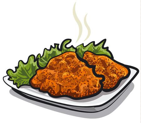 schnitzel: schnitzel