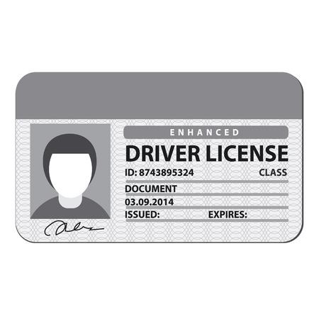 chofer: licencia de conducir