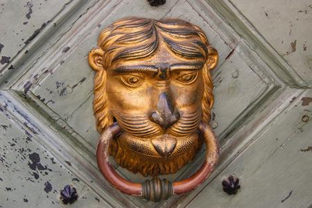 knocker: old door