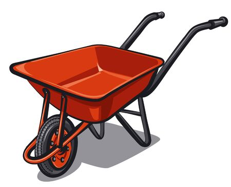 wheelbarrow: wheelbarrow Illustration